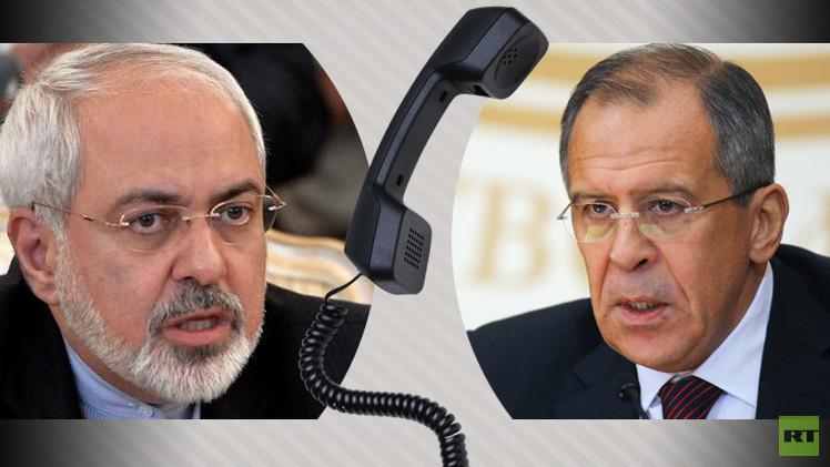 لافروف وظريف يبحثان سير التحضير لاجتماع فيينا حول سوريا