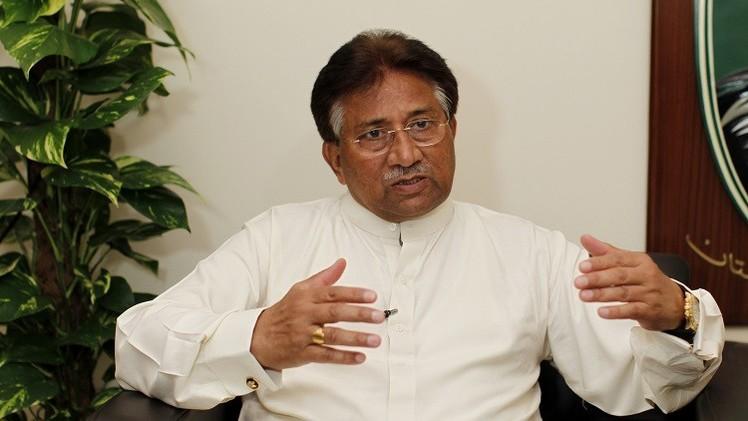 الرئيس الباكستاني السابق برويز مشرف - أرشيف
