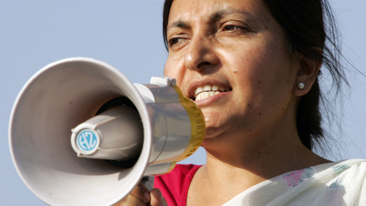 أول امرأة تفوز بالكرسي الرئاسي في نيبال