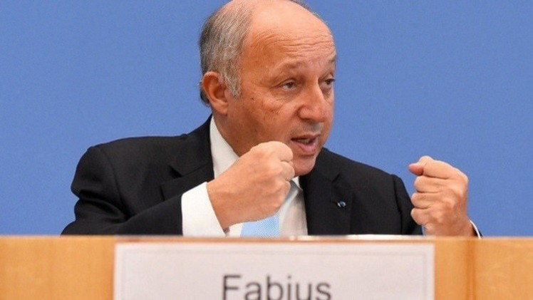 فابيوس: باريس وحلفاؤها يريدون بحث جدول زمني لرحيل الأسد