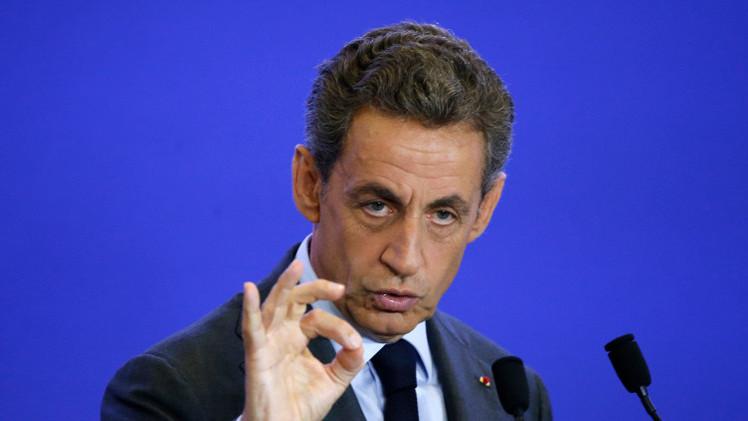 ساركوزي يؤيد مشاركة الأسد في العملية السياسية في سوريا
