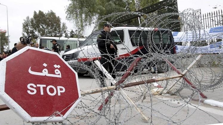 ضابط تونسي يضرم النار بنفسه بسبب مشاكل