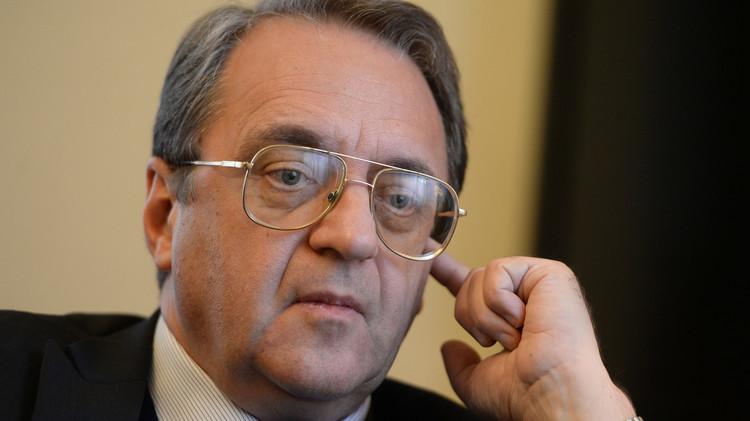 بوغدانوف: روسيا تجري محادثات شبه يومية مع المعارضة السورية
