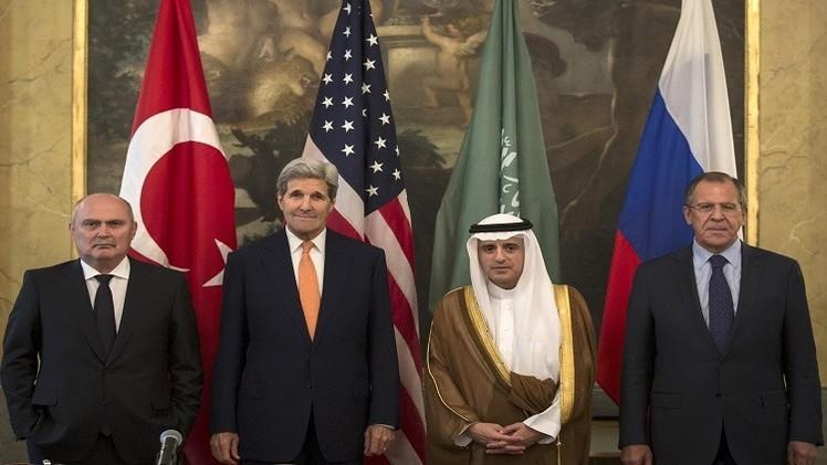 لافروف: لم نتفق على مصير الأسد ولا نريد وصول الإرهابيين للسلطة في سوريا