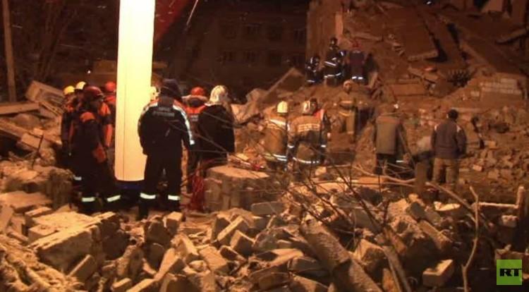 5 قتلى بانفجار في مبنى سكني أقصى شرق روسيا