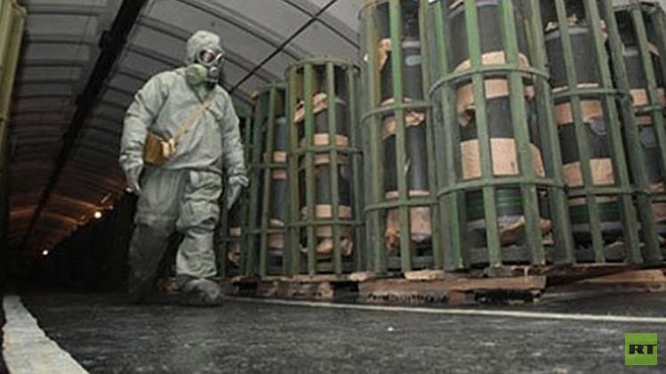 روسيا تدخل التاريخ من بوابة نزع الأسلحة الكيميائية