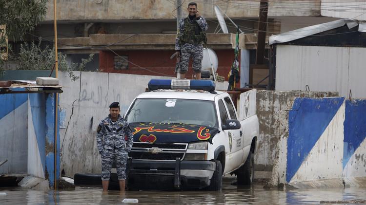 العراق.. الأمطار تؤدي إلى تعليق الجيش لعملياته في الرمادي