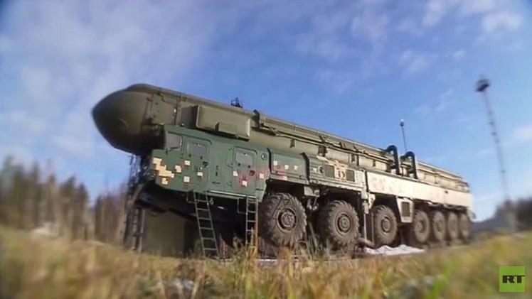 شاهد إطلاق الصواريخ الروسية العابرة للقارات