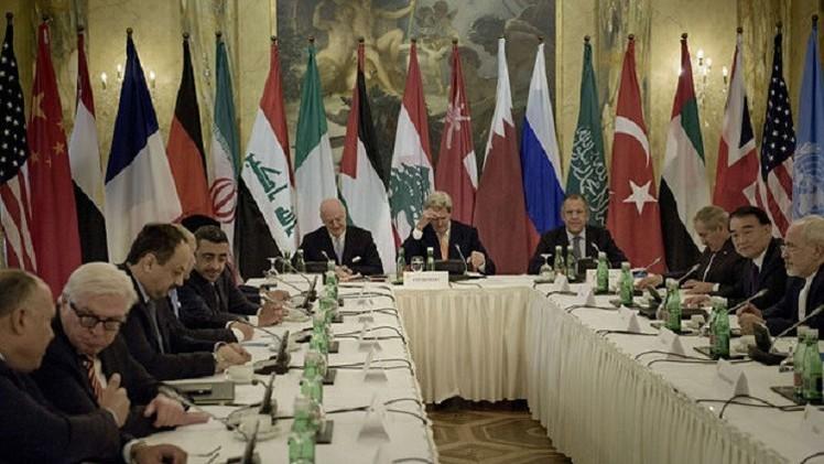 نص البيان الختامي الصادر عن مباحثات فيينا بشأن الأزمة السورية