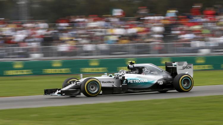 روزبرغ سائق مرسيدس أول المنطلقين في جائزة المكسيك للفورمولا وان