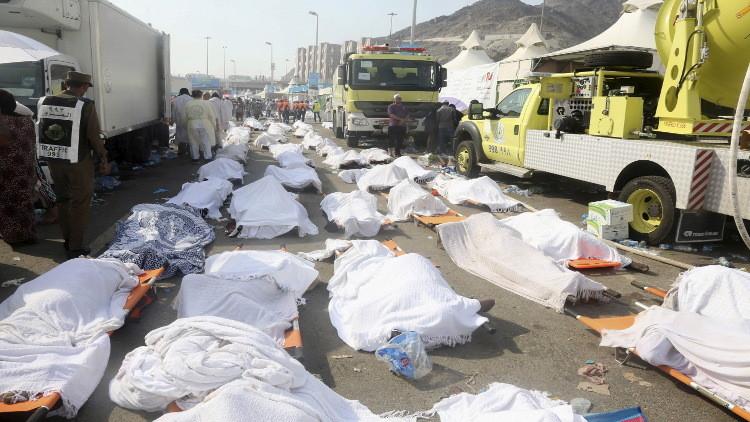 الرياض وطهران تتفقان على إعادة جثامين الحجاج الإيرانيين