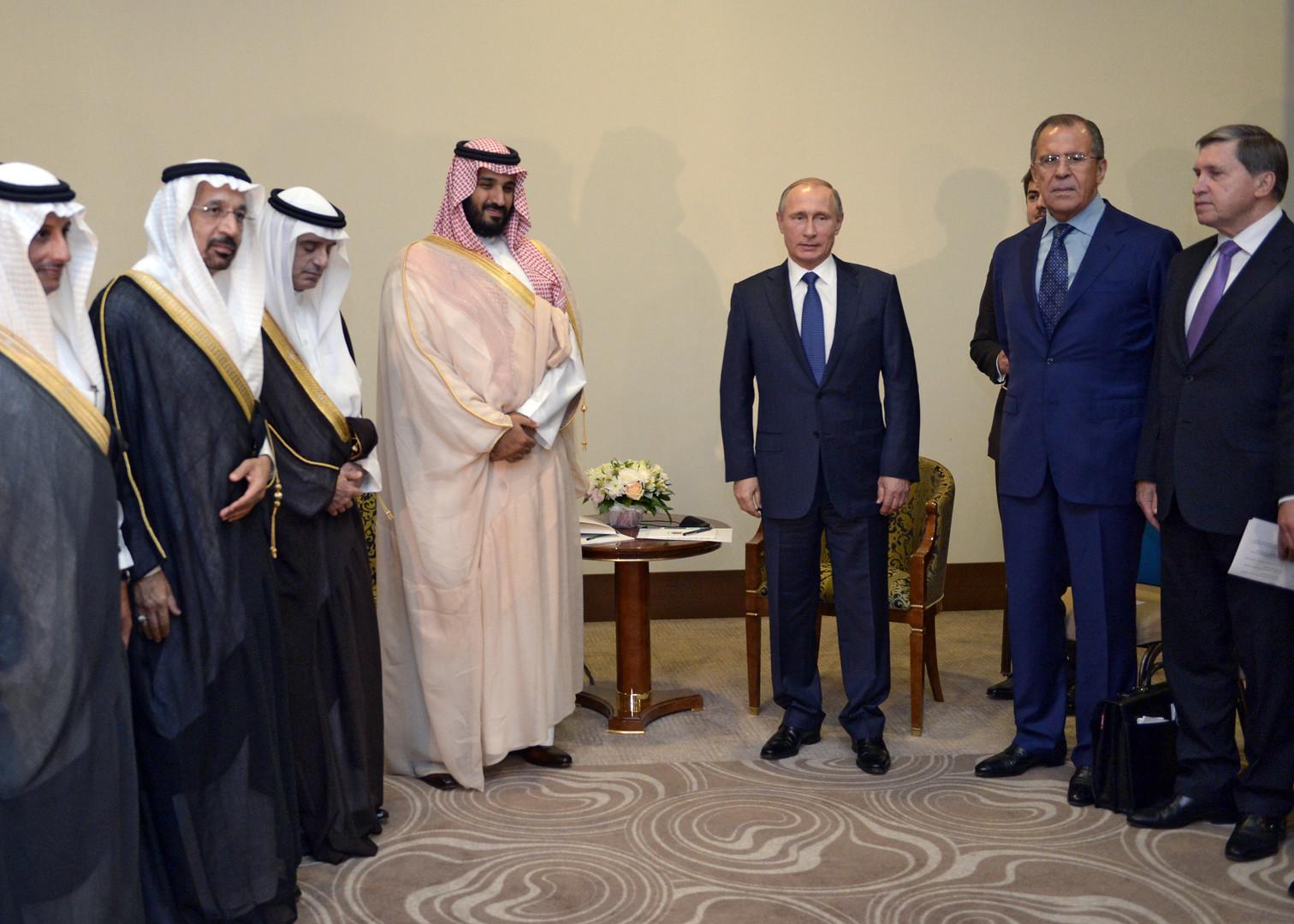 روسيا والسعودية تؤكدان تطابق أهدافهما فيما يتعلق بالأزمة السورية
