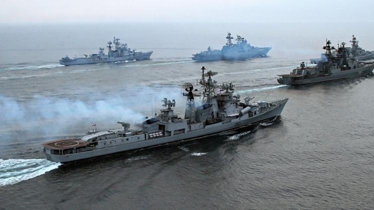 السفن الروسية في المتوسط