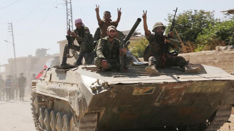 الجيش السوري يتقدم