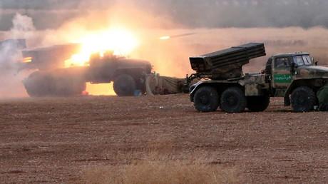 الجيش السوري يعلن بدء عملية برية واسعة لتحرير المناطق والبلدات التي تسيطر عليها تنظيمات إرهابية