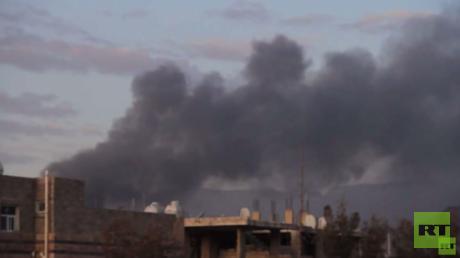 غارات للتحالف العربي على صنعاء وتعز