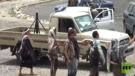 مواجهات بين أنصار صالح وهادي في تعز