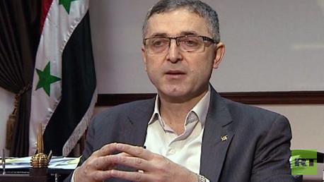 وزير الدولة لشؤون المصالحة الوطنية السوري علي حيدر