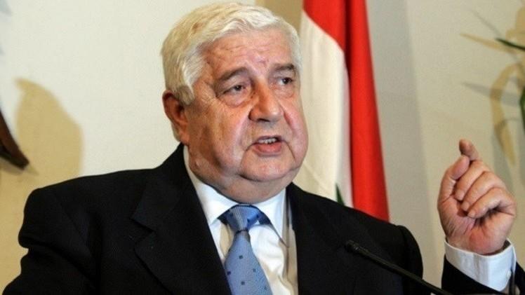 المعلم: بيان فيينا مهم جدا لإنهاء الأزمة السورية