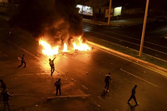 الأمن التركي يستخدم الغاز المسيل للدموع لتفريق محتجين في دياربكر