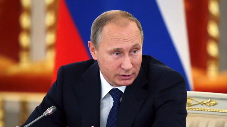 بوتين يدعو إلى توحيد الجهود الدولية في مكافحة الفساد
