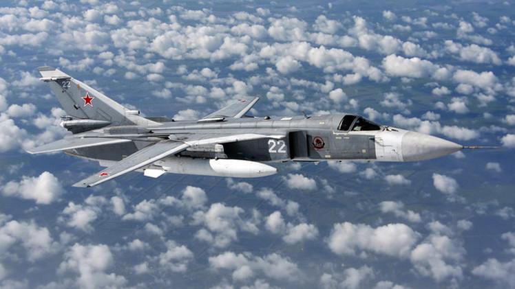 قاذفة القنابل سو-24