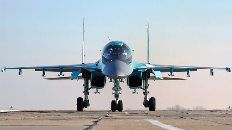 القاذفة المقاتلة سو- 34