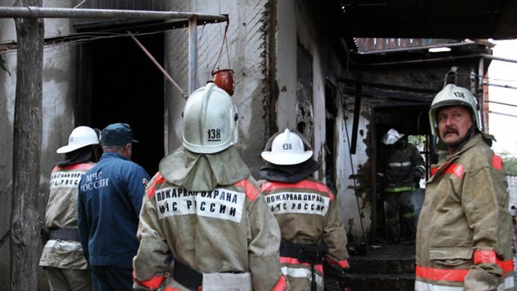 مقتل رجل و3 أطفال في حريق بجنوب غرب سيبيريا