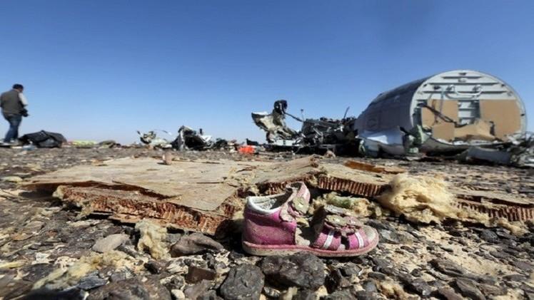 قمر تجسس أمريكي يسجل وميضا فوق سيناء لحظة تحطم الطائرة الروسية