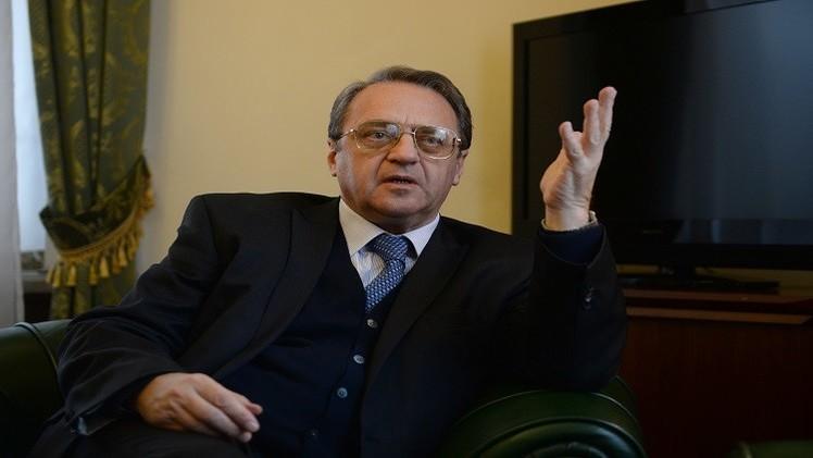 عشية لقاء لافروف ودي ميستورا موسكو تتحدث عن لقاء محتمل بين الحكومة السورية والمعارضة