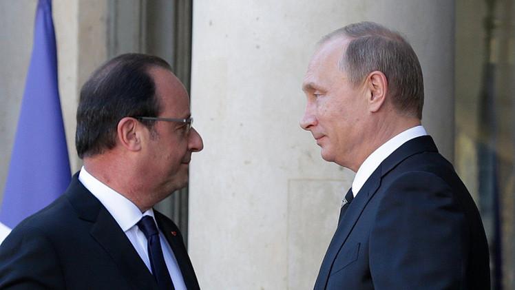 هولاند يدعو بوتين للمشاركة في مؤتمر باريس الدولي حول المناخ