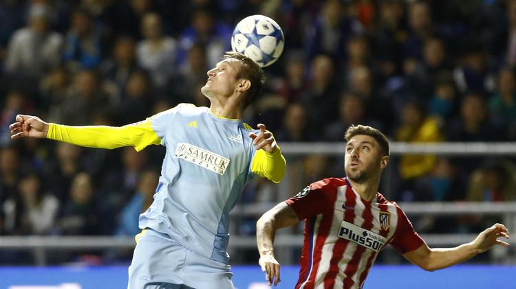 أتلتيكو مدريد يعود بتعادل بطعم الهزيمة من كازاخستان .. (صور)