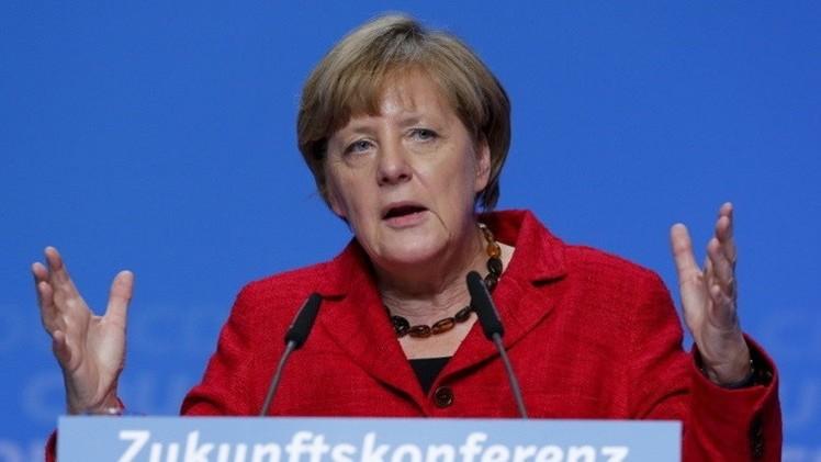 ميركل: نطالب أوروبا باتخاذ أسلوب شامل لأزمة اللاجئين