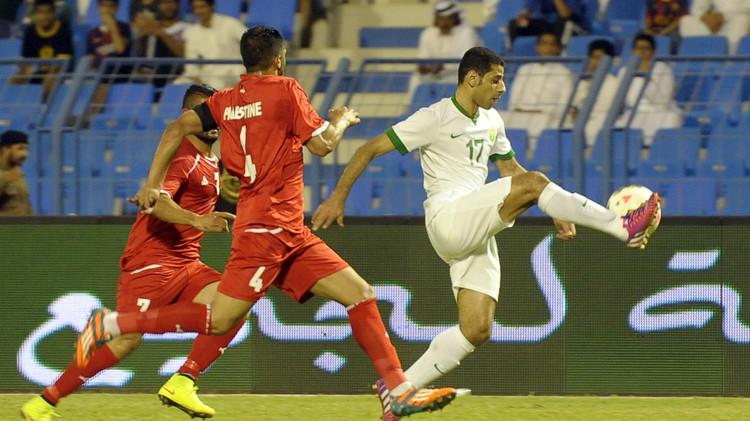 مباراة السعودية وفلسطين تنقل إلى الأردن بعد تدخل الأمير والرئيس