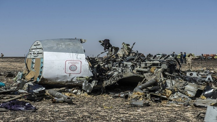 الكرملين: التخمينات حول تحطم الطائرة الروسية في سيناء غير جديرة بالثقة
