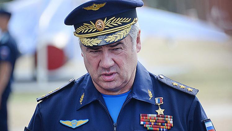 قائد القوات الجوية الروسية: نحن نضرب عناصر