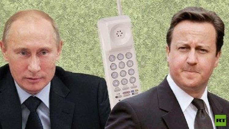 بوتين يشدد في حديثه مع كاميرون على ضرورة اعتماد معطيات التحقيق الرسمي بشأن كارثة سيناء