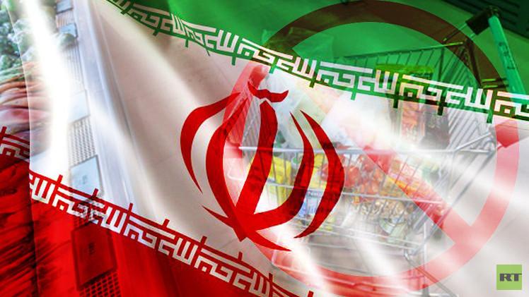 طهران تفرض حظرا على المواد الاستهلاكية الأمريكية