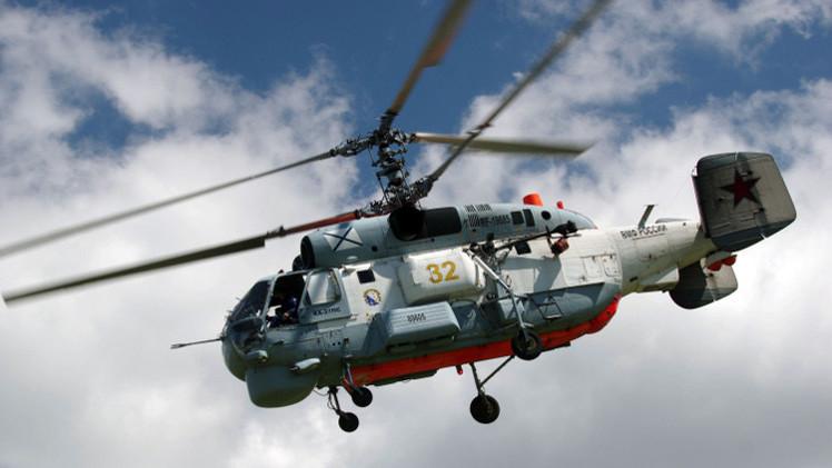 مروحيات حربية روسية تتدرب على البحث عن غواصات في البحر المتوسط