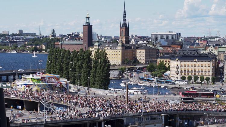 انفجار ضخم يهز العاصمة السويدية ستوكهولم