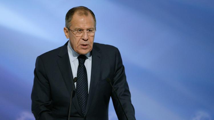 لافروف: صعود الإرهاب في الشرق الأوسط مرتبط بالتدخلات الخارجية