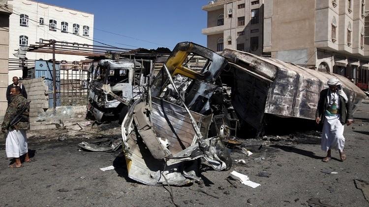 مقتل 19 شخصا على الأقل في قصف واشتباكات باليمن