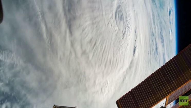 ناسا تنشر فيديو لإعصار تشابالا