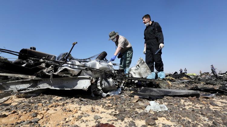 الكرملين: بريطانيا أخطرتنا بمعلومات حول كارثة الطائرة الروسية