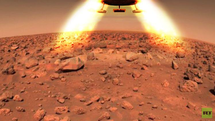 ناسا تبدأ بالبحث عن موقع على سطح المريخ لهبوط مركبة مأهولة