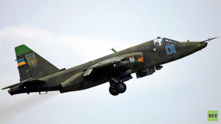 تحطم مقاتلة أوكرانية ومقتل طيارها