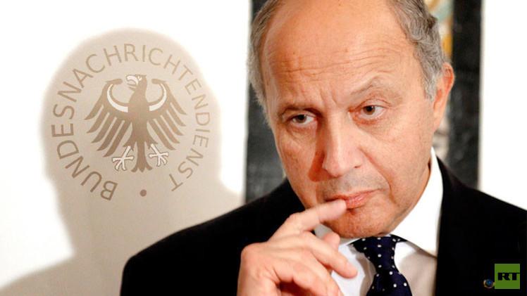 فابيوس ضحية تجسس المخابرات الألمانية