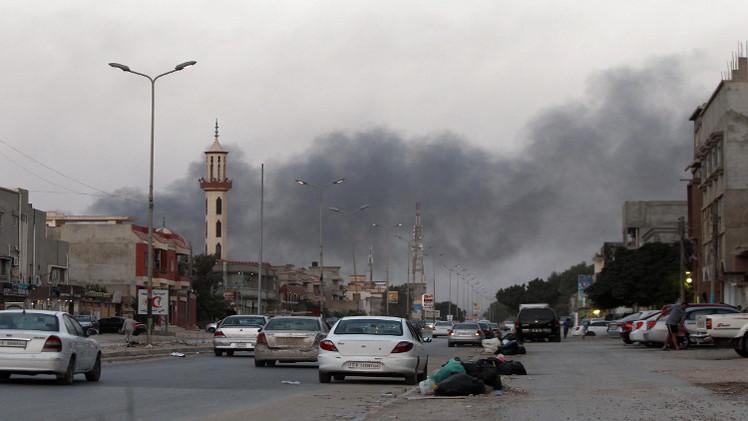 ليبيا.. مقتل 16 جنديا بمواجهات في بنغازي