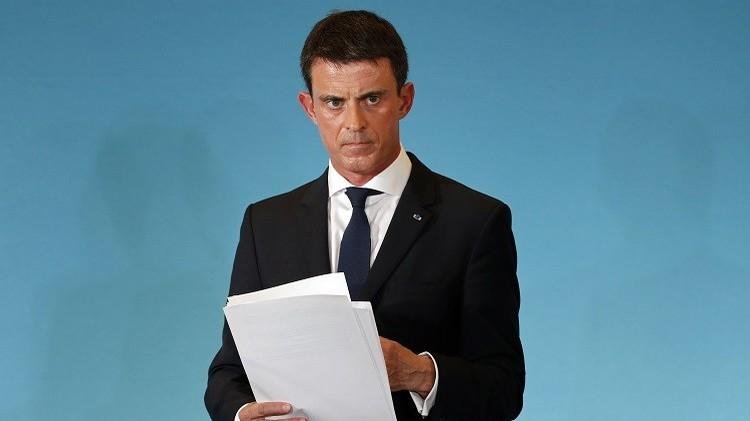 مانويل فالس: فرنسا تحارب الإرهاب ويدها لن ترتعش