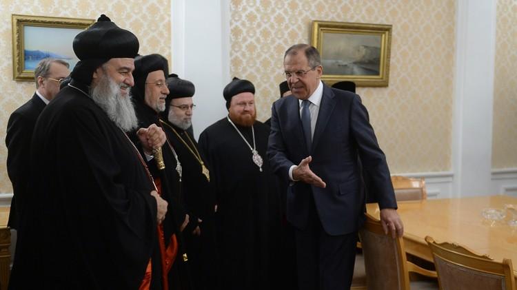 لافروف: علينا بذل جهود قصوى لمنع حدوث انقسام طائفي في الشرق الأوسط